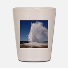 Yellowstone Natl Park - Old Faithful Shot Glass