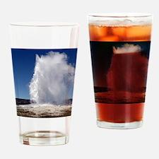 Yellowstone Natl Park - Old Faithfu Drinking Glass