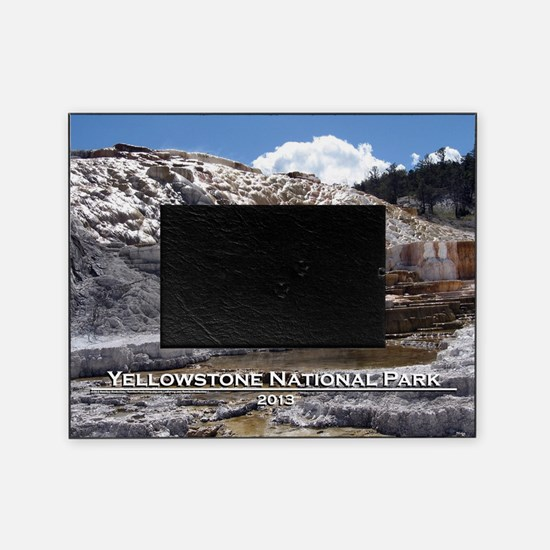 Mammoth Hot Springs, YNP Picture Frame