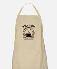Medical Student Fueled By Coffee Apron