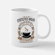 Statistics Major Fueled By Coffee Mugs