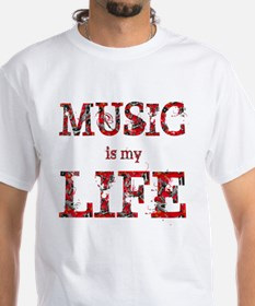 Music is my LIFE. T-Shirt