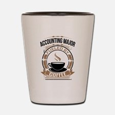 Accounting Major Fueled By Coffee Shot Glass
