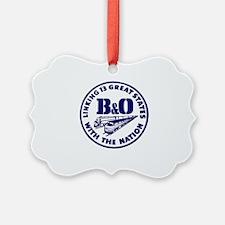 Unique Bo Ornament