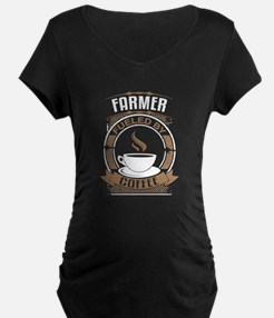 Farmer Fueled By Coffee Maternity T-Shirt
