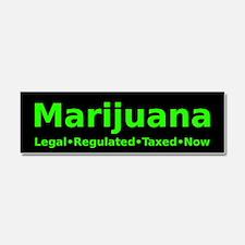 Tax Marijuana Car Magnet 10 x 3