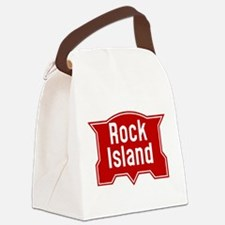 Rock Island Railway logo Canvas Lunch Bag