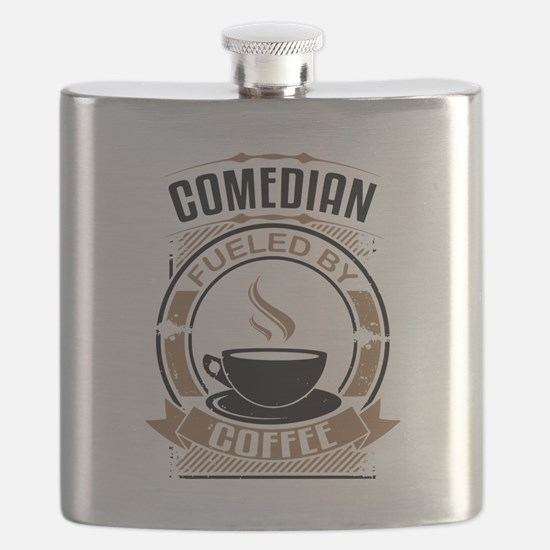Comedian Fueled By Coffee Flask