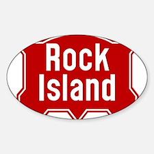 Rock Island Railway logo Decal