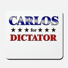 CARLOS for dictator Mousepad