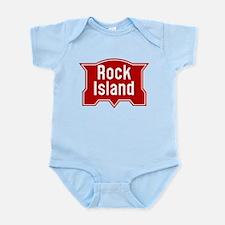 Rock Island Railway logo Body Suit