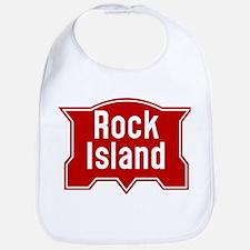 Rock Island Railway logo Bib