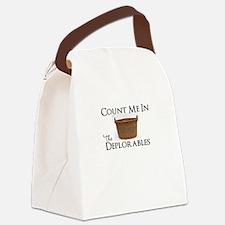 Unique Conservative political Canvas Lunch Bag