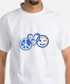 PeaceLoveHappiness T-Shirt