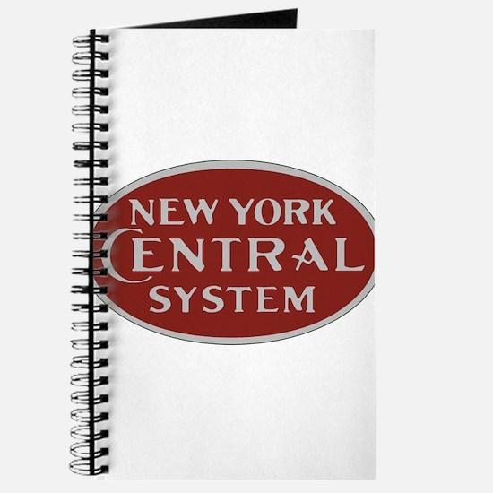 New York Central Railroad Logo-maroon Journal