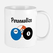 Personalize Pool Biliards Small Small Mug