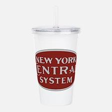 New York Central Railr Acrylic Double-wall Tumbler
