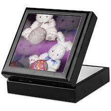 "Ostara ""Easter"" Bunny w/ Ball Keepsake Box"