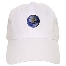 Western Earth from Space Baseball Cap