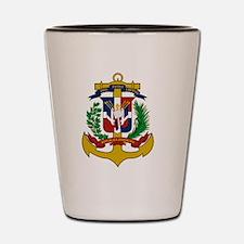 Cute Dominican Shot Glass