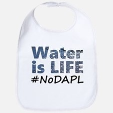 Water is Life - #NoDAPL Bib