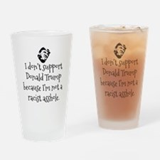Unique Presidential campaign Drinking Glass