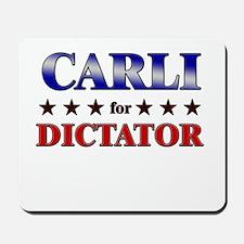 CARLI for dictator Mousepad