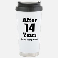 Unique 14th Travel Mug