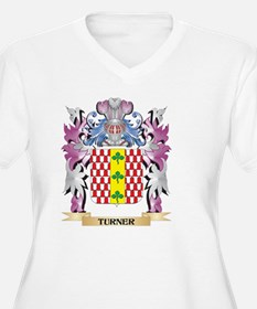 Turner Coat of Arms - Family Cre Plus Size T-Shirt