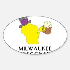 State of Wisconsin Beer - Milwaukee Decal