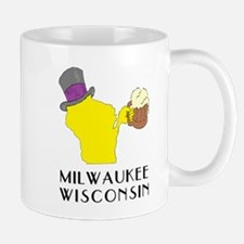 State of Wisconsin Beer - Milwaukee Mugs