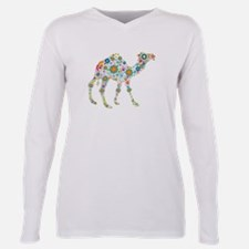 Funny Travel Plus Size Long Sleeve Tee