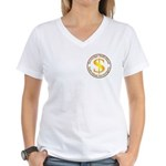 IS-SI Women's V-Neck T-Shirt