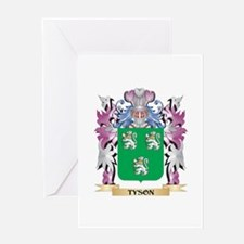 Tyson Coat of Arms - Family Crest Greeting Cards