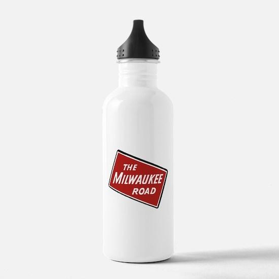 Milwaukee Road logo- s Water Bottle