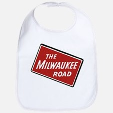 Milwaukee Road logo- slanted Bib