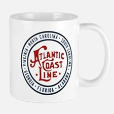 Atlantic Coast Line Railroad Mugs