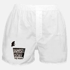 Cute Dumpster divers Boxer Shorts