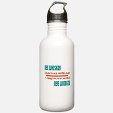 I improve with Rye Whi Water Bottle