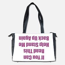 Read This Diaper Bag