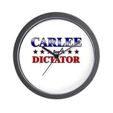 CARLEE for dictator Wall Clock