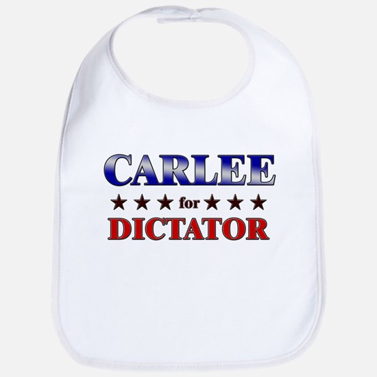 CARLEE for dictator Bib