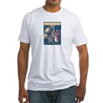 Crane's Red Riding Hood Fitted T-Shirt