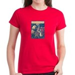 Crane's Red Riding Hood Women's Dark T-Shirt