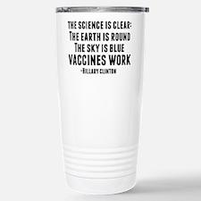Cute Vaccinations Thermos Mug