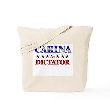 CARINA for dictator Tote Bag