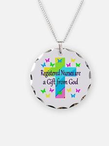 RN NURSE PRAYER Necklace