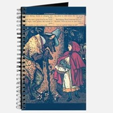 Crane's Red Riding Hood Journal