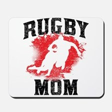 Rugby Mom Mousepad