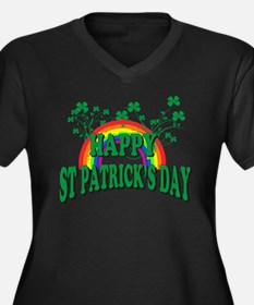 Happy St. Patrick's Day Plus Size T-Shirt